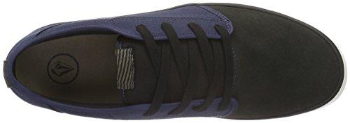 Volcom Grimm 2 Shoe - Zapatillas Hombre Azul - Blau (Midnight Blue)