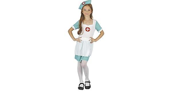 DISONIL Disfraz Enfermera Niña Talla L: Amazon.es: Juguetes y juegos