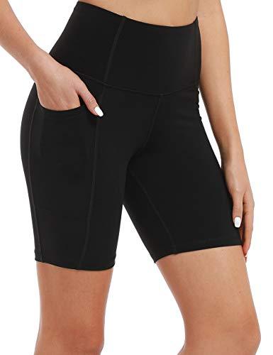 Diamond Womens Shorts - Hopgo Women's High Waist Workout Leggings Yoga Shorts Tummy Control Sports Tights 7