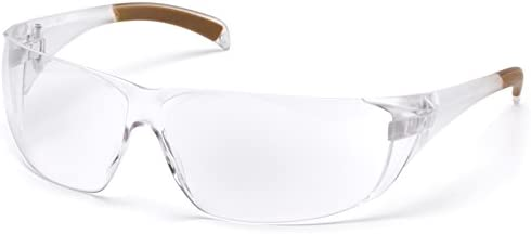 Carhartt Billings Safety Glasses with Clear Anti-fog Lens