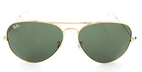 Ray-Ban Aviator Classic, Gold/ Grey Green, 62 mm