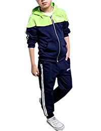 Ameyda Boys' 2 Pieces Sweatsuits Outfits,4Years - 11Years