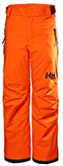A classic fitted and fully waterproof Helly Tech Performance ski pant for Juniors with a pop of color in the details, extendable leg length to cater for the fast growing kids.