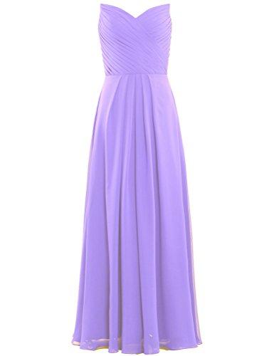 Chiffon Wedding Guest ANTS Party for Pleat Dresses Long Women's Violet wxRAnAvqHt