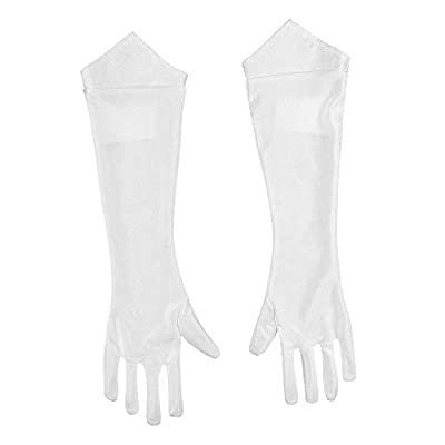 Disguise Women's Nintendo Super Mario Bros. Princess Peach Gloves, One Size: Clothing