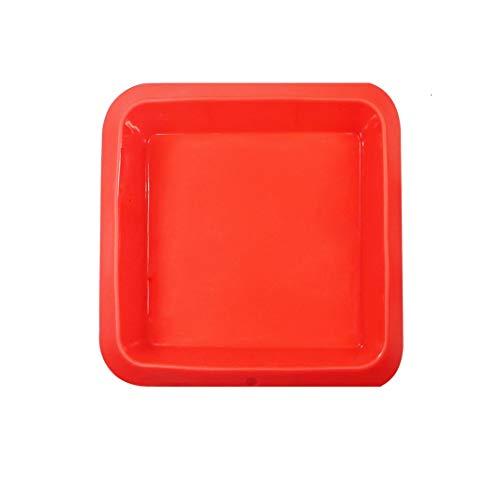 Silicone Cake Pan, Non Stick Silicone Square Baking Molds for Bread, Pizza