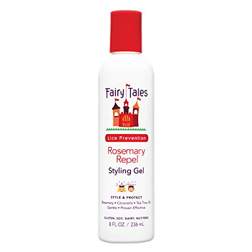 Fairy Tales Rosemary Repel Daily Kid Styling Gel for Lice Prevention - 8 Fl. Oz