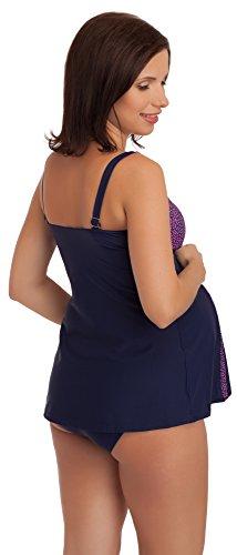 Blu Bagno Marino Costume Mammy Premaman C1R92N Be Rosa Da H7xYqwtxv