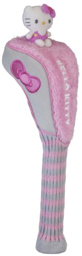 "Hello Kitty Golf Driver ""Mix and Match"" Headcover (Pink/Grey), Outdoor Stuffs"