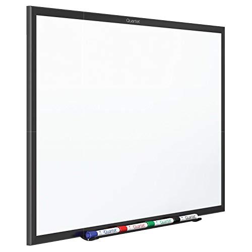(Quartet Whiteboard, Standard, Dry Erase Board, 8 x 4 Feet, Black Aluminum Frame (S538B))
