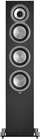 ELAC Uni-fi UF5 Floorstanding Speaker (Black, Single)