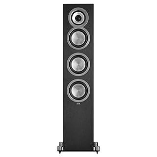 ELAC Uni-fi UF5 Floorstanding Speaker (Black, Single)