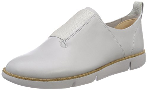 Clarks Tri Form, Mocassins Femme Bleu (Ice Blue Leather)