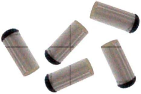ClubKing - Juego de 10 capuchones para tacos de billar, 11 mm ...