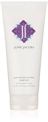 June Jacobs Green Tea and Cucumber Body Balm, 6.7 fl.oz. 6.7 Ounce Body Balm