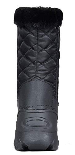 22ff56293c0 Jual DREAM PAIRS Women s Faux Fur Lined Mid Calf Winter Snow Boots ...