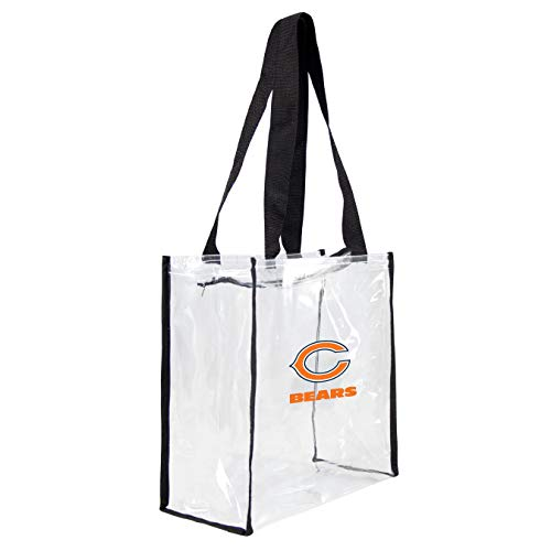 NFL Chicago Bears Clear Square Stadium Tote Chicago Bears Nfl Stadium