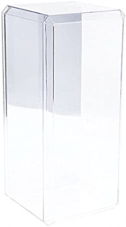 15.5 x 7 x 6 Clear Acrylic Display Case For Large 1:18 Scale Cars With Mirror