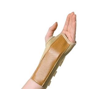 Medline Elastic Wrist Splints, Small, Left