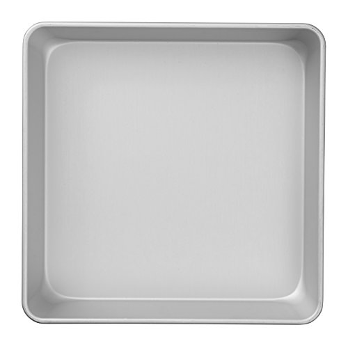(Wilton Performance Pans Aluminum Square Cake and Brownie Pan, 10-Inch)