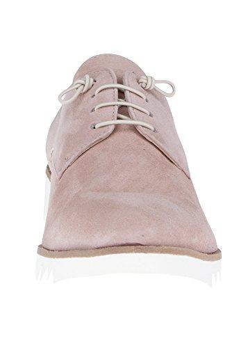 Donna Carolina - Zapatos de cordones para mujer color carne