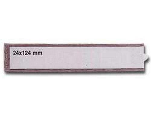 SEI ROTA 6 portaetichette adesive ies b3 24x124mm sei 25202