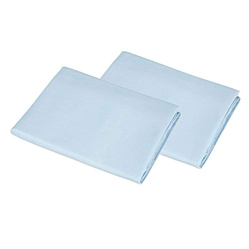 American Baby Company 2 Pack 100% Cotton Value Jersey Knit Cradle Sheet - Blue by American Baby Company