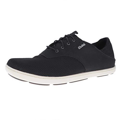 OLUKAI Nohea Moku Nautical Tech Sneaker (Men's) 8.5 Onyx/Onyx