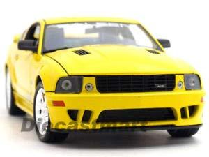 Saleen Body Mustang (BDCAT Welly 1:18 2007 Saleen Ford Mustang S281E Yellow)