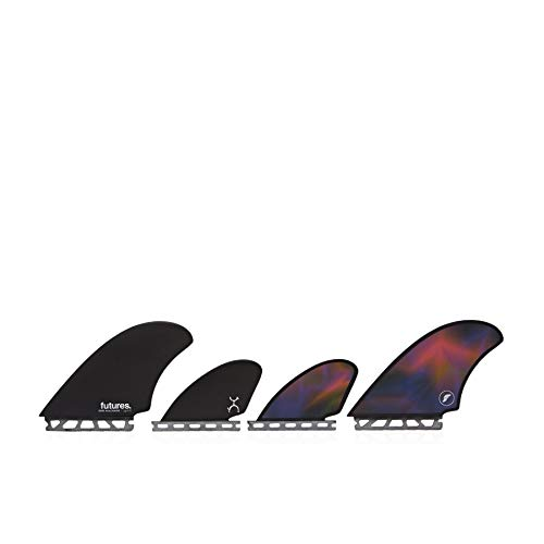 Future Fins Machado Honeycomb Quad Black-Swirl (Quad Fins)