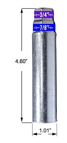 Silver Closed End Nuts with 1 Socket Key for Chevy Silverado Aftermarket Wheel 14 mm x 1.5 Wheel Spike Lug Nuts Cone//Conical Bulge Seat 24 x Black M14x1.5 Lug Nut