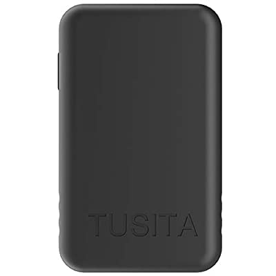 TUSITA Case for Golf Buddy GB3 VTX Talking Handheld GPS - Silicone Protective Cover Skin - Golf GPS Accessories