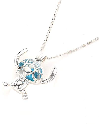 BlingSoul Lilo and Stitch Necklace Jewelry for Women
