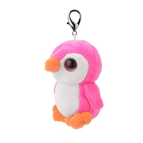ORBYS Wild Planet 10cm Luxury Handmade Pink Penguin Soft Toy ...