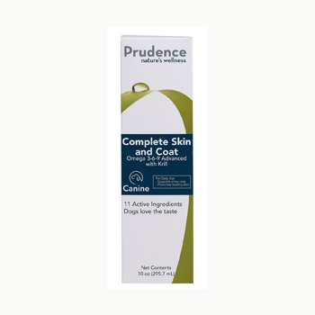 Prudence Complete Skin and Coat for Dogs, 10 fl. oz., My Pet Supplies