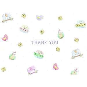 Hortense B. Hewitt 90976 Flower Garden Thank You Cards
