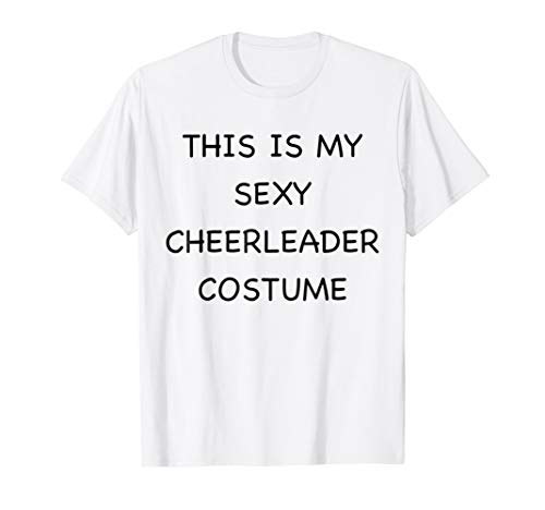 Sexy Cheerleader Lazy Halloween Costume Funny Easy Outfit