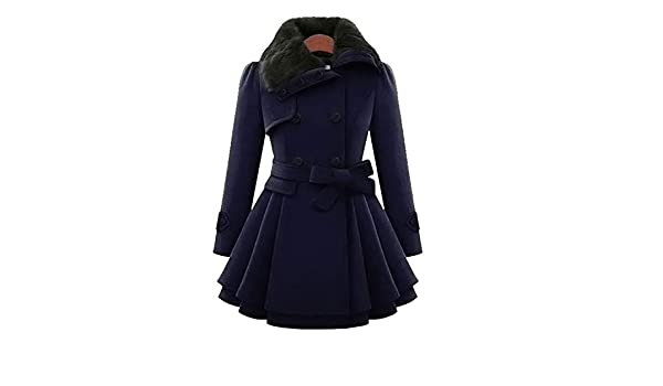 Amazon.com: aiiaBestProducts - Winter Coat Women Wool & Blends Coats Female Jacket Winter Woman Coat Warm Windbreaker Plus Size Abrigos Mujer Invierno 2018 ...