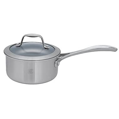 Spirit Saucepan with Lid Size: 1-qt.