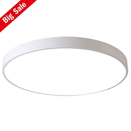 Led Ceiling Light Modern Panel Lamp Lighting Fixture Living Room Bedroom Kitchen Surface Mount Flush Remote Control Strong Resistance To Heat And Hard Wearing Ceiling Lights