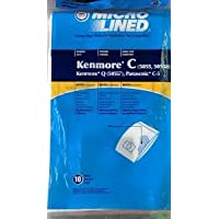 36 Vacuum Cleaner Bags for Sears Kenmore 5055 50557 50558 Panasonic C-5 C5 C Q