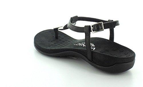 Arch Black Flip Support Vionic Women's Flop Lizbeth YIaTIEn4