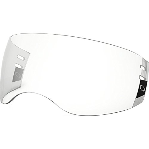Oakley Aviator Pro Cut Hockey Visor, Clear, One Size