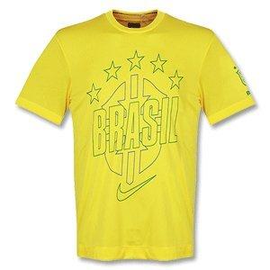 - Brazil Yellow T-Shirt 2010