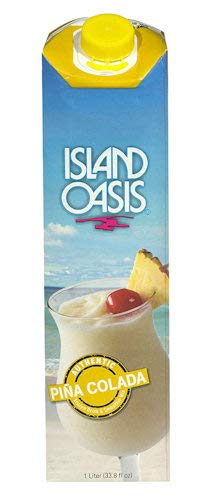 Island Oasis Pina Colada Beverage Mix, 32 oz Shelf Stable by ISLAND OASIS