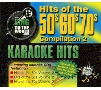 Sing To The World Karaoke - Hits Of The 50s, 60s & 70s Volume 2 (3 CD+G Set) [UK - Karaoke 50s