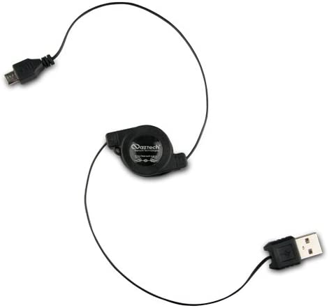 Naztech Retractable Micro USB Data and Charging Cable