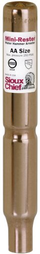 (Sioux Chief Mfg 660-S 1/2-Inch Male Sweat Mini Rester Residential Water Hammer)