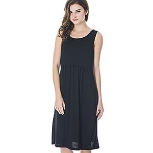 ae7ec09615 Bearsland Women's Sleeveless Maternity Dress Nursing Breastfeeding Dresses  with Pockets