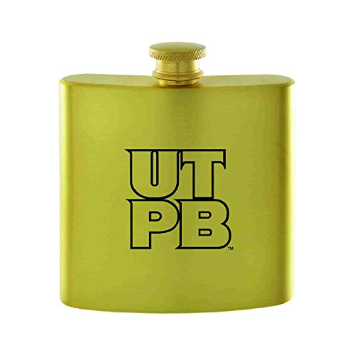 The University of Texas at The Permian Basin-Contemporary Metals Flask-Gold